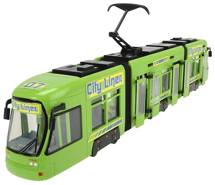 Трамвай Dickie Toys «Городской трамвай»