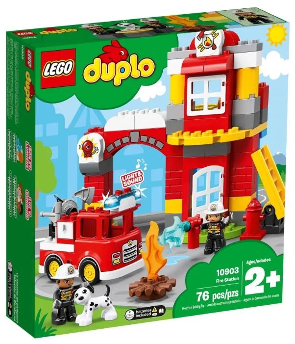 Конструктор LEGO DUPLO «Пожарное депо»