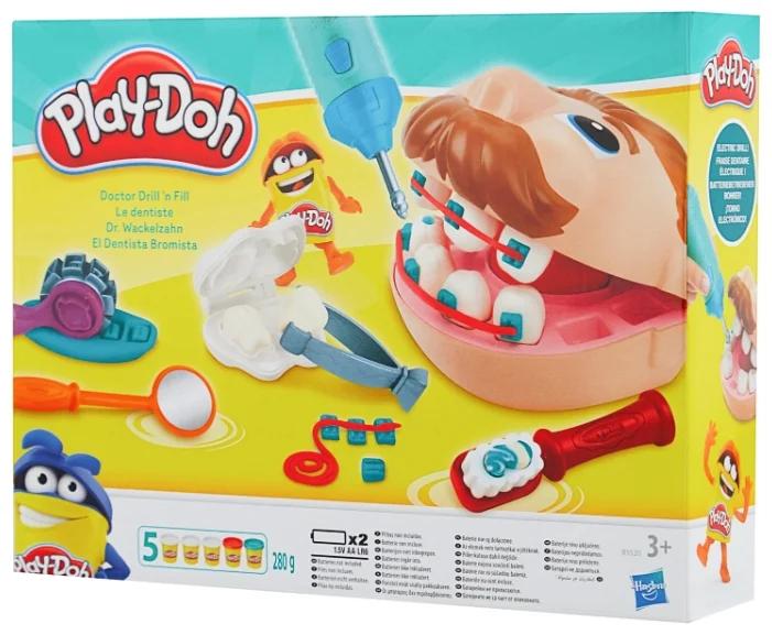 Масса для лепки Play-Doh «Мистер Зубастик»