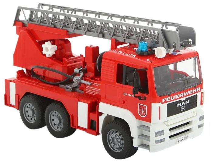 Машинка Bruder MAN «Пожарный автомобиль с лестницей и помпой»