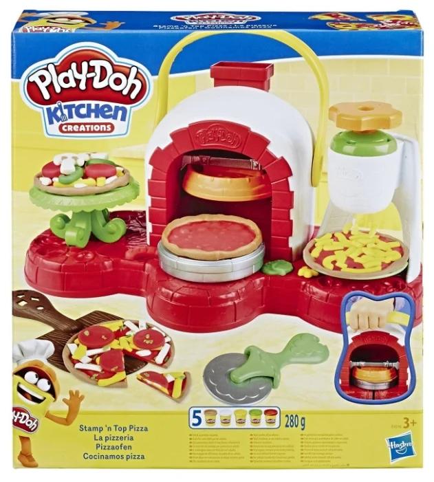 Масса для лепки Play-Doh «Печем пиццу»