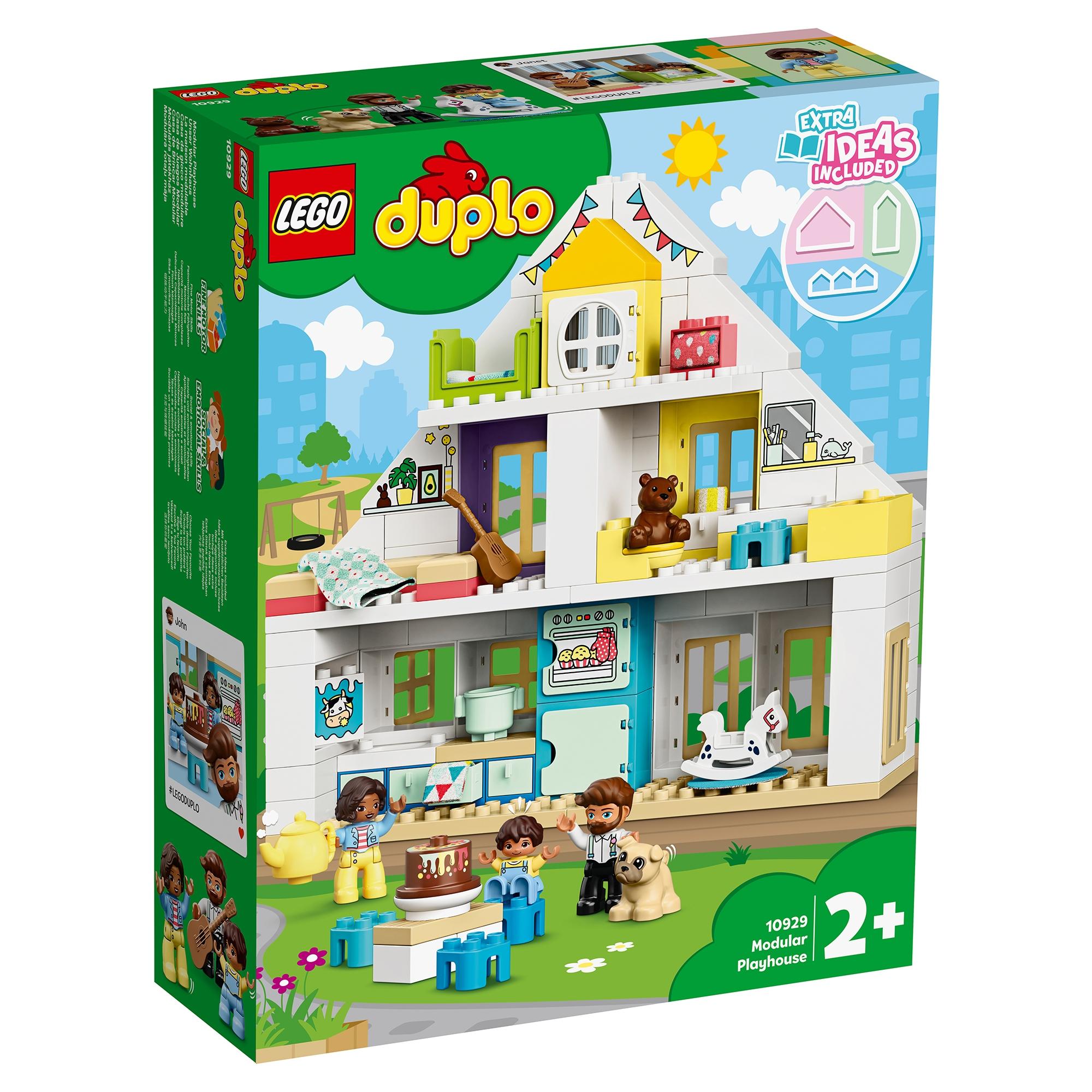 Конструктор LEGO DUPLO «Модульный игрушечный дом» (10929)