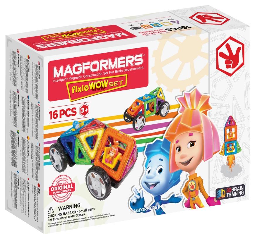 Магнитный конструктор Magformers Wow «Фиксики» (770001)