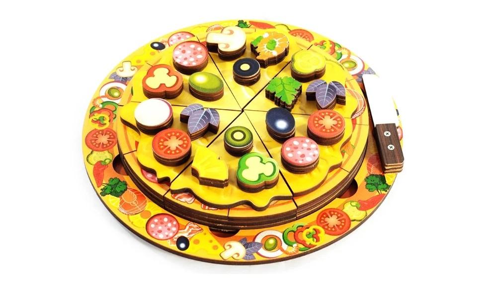 Пирамидка Нескучные игры «Пицца»