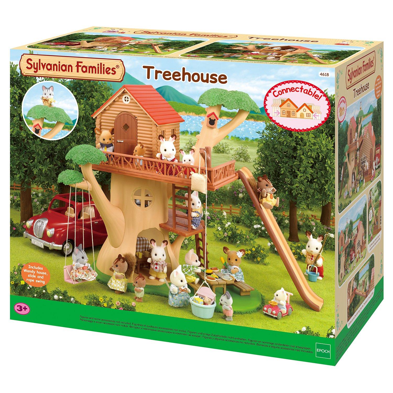 Игровой набор Sylvanian Families Дерево-дом