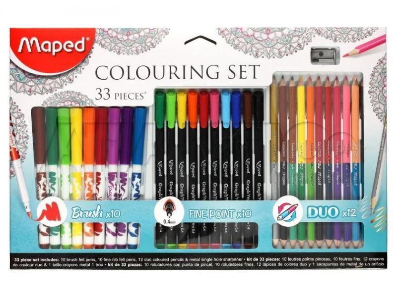 Набор для рисования Maped Colouring Set 33 предмета (897417)