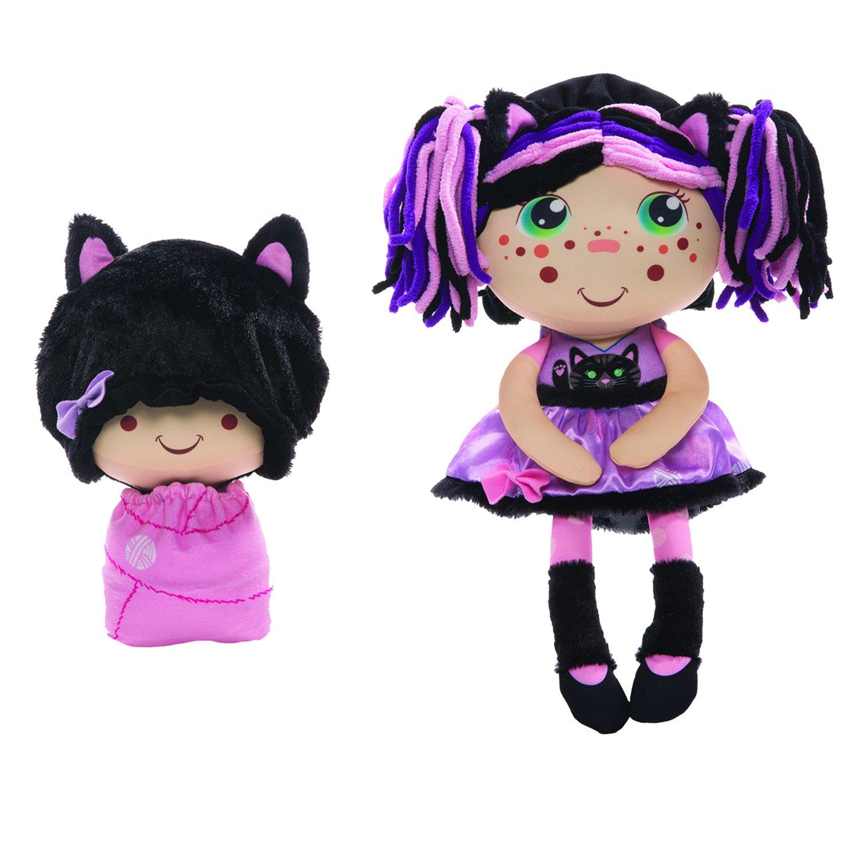 Мягкая игрушка 1 TOY Девчушка-вывернушка Танюшка