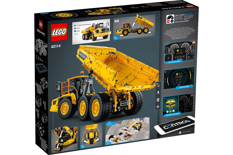 Электромеханический конструктор LEGO Technic «Самосвал Volvo 6х6» 42114