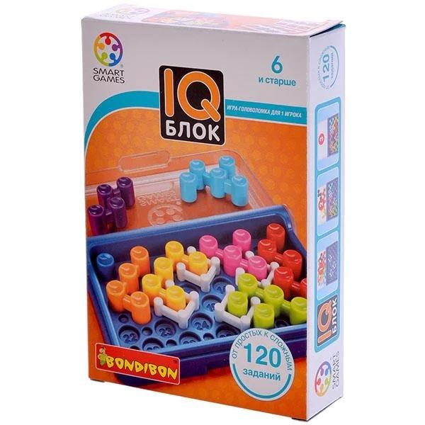 Головоломка BONDIBON «IQ-Блок» ВВ1354