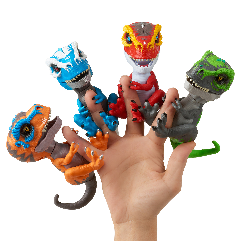 Интерактивная игрушка-робот WowWee Fingerlings Untamed T-Rex