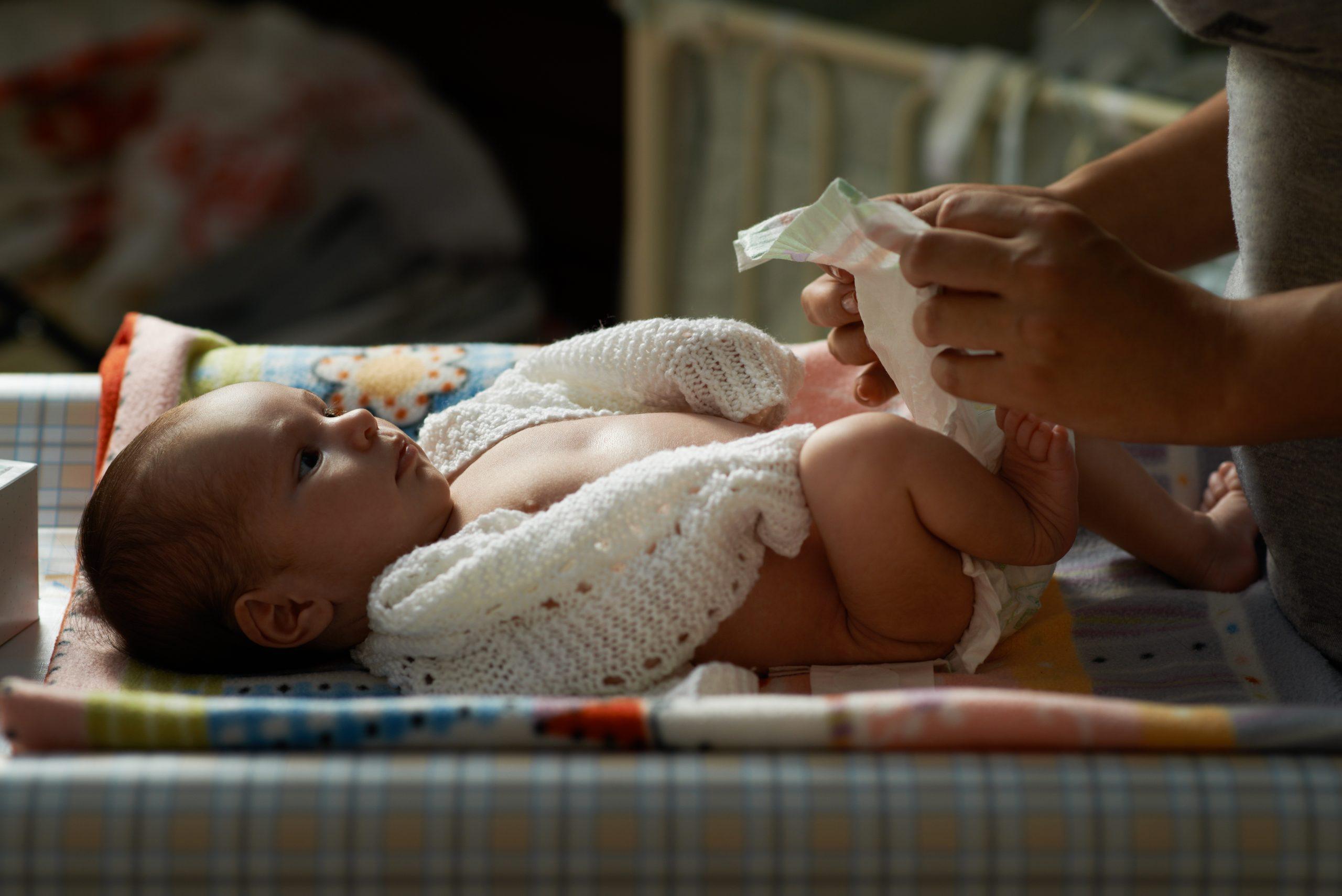 Как приучить ребенка спать без памперса ночью?