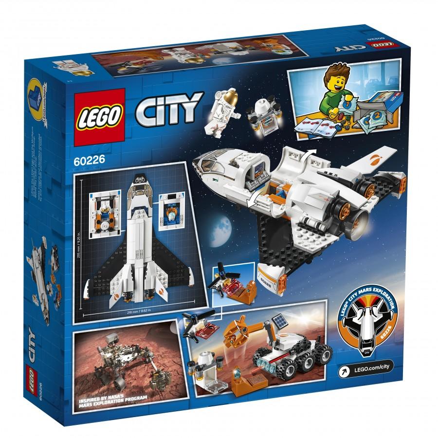 Конструктор LEGO City Шаттл для исследований Марса (60226)