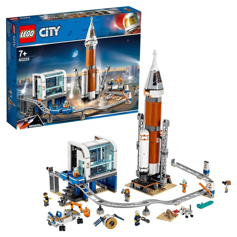 Конструктор LEGO City «Космическая ракета и пункт управления запуском» 60228