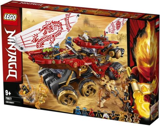 Конструктор LEGO Ninjago «Райский уголок» 70677