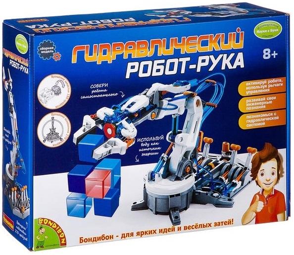 Набор для исследований BONDIBON «Гидравлический робот-рука» BB2582