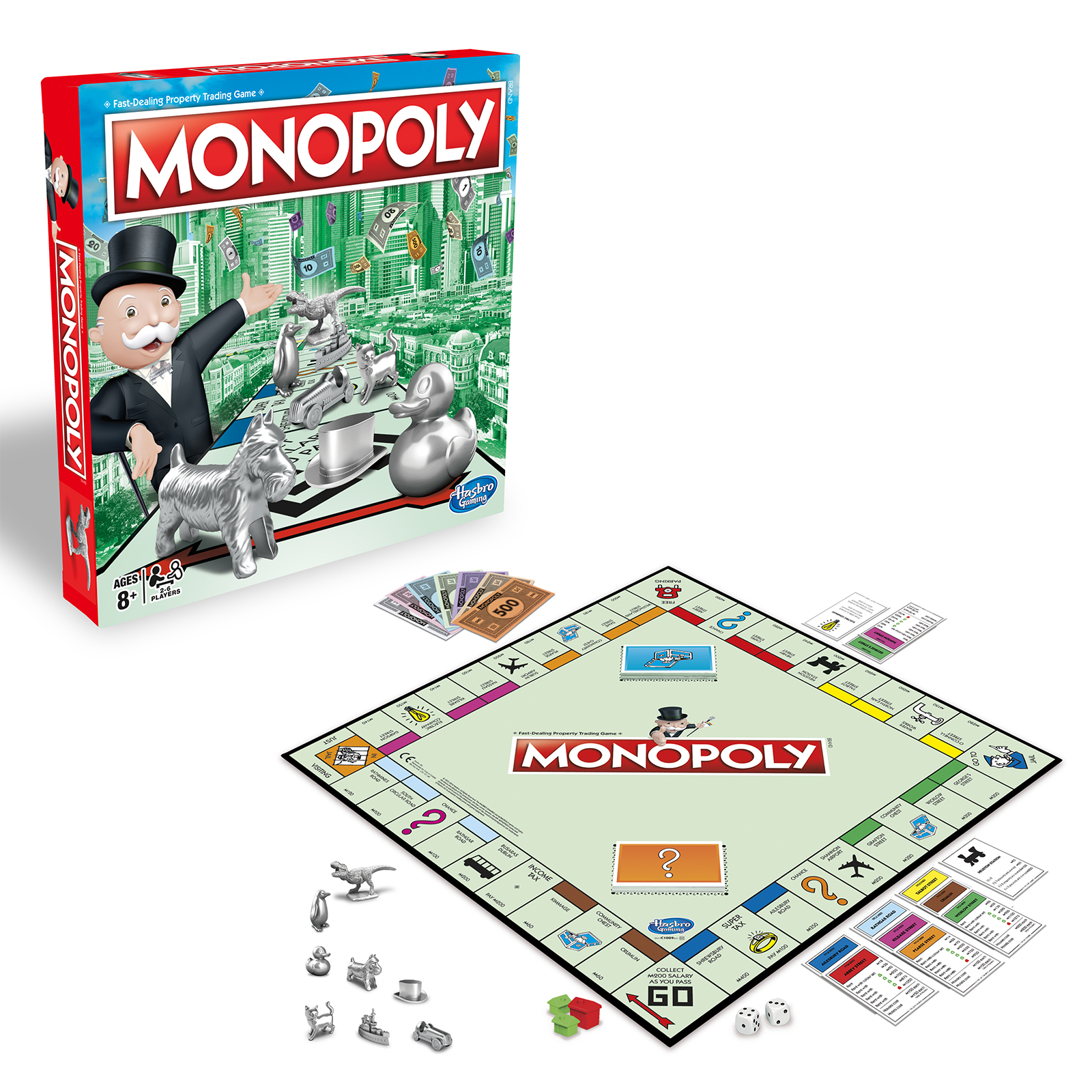 Настольная игра Hasbro Monopoly C1009