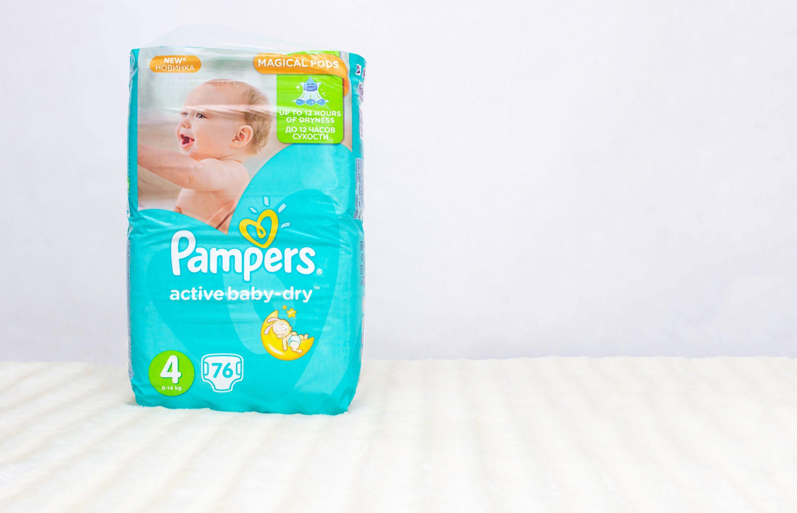 Полный обзор детских подгузников Pampers