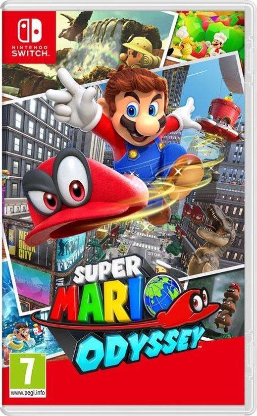 Игра для приставки Nintendo Super Mario Odyssey