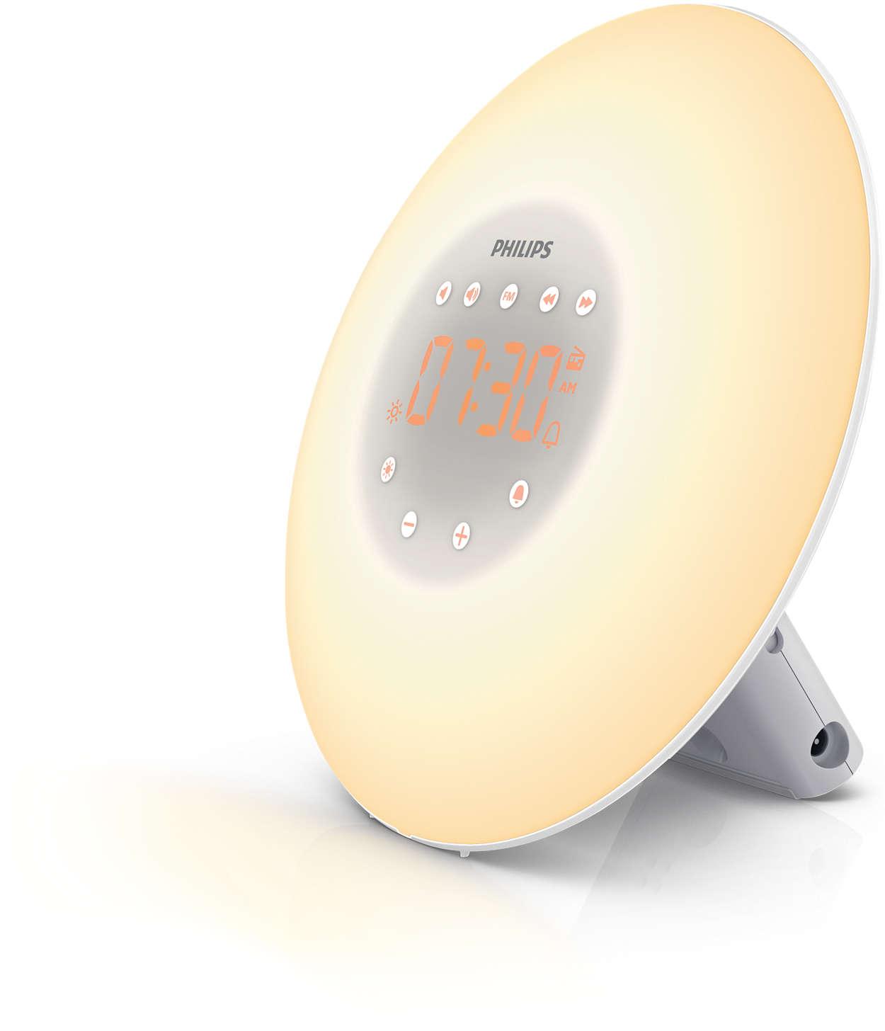 Световой будильник Philips Wake-up Light HF3505/70