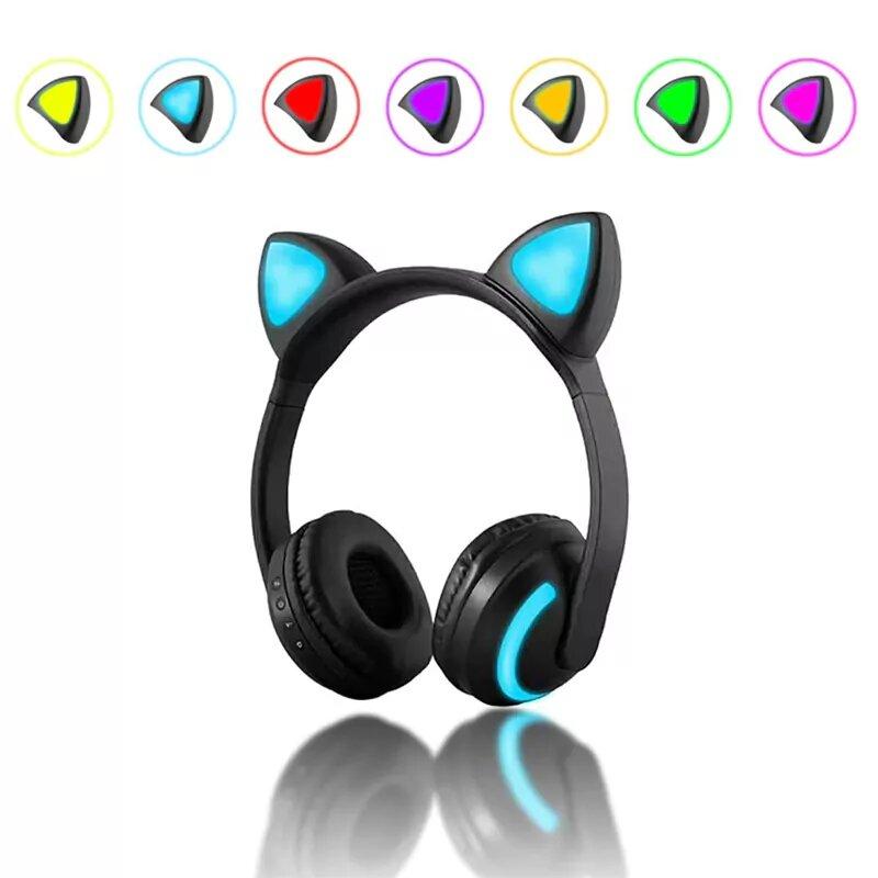 Беспроводные наушники Wireless Cat Ear Headphones ZW-19