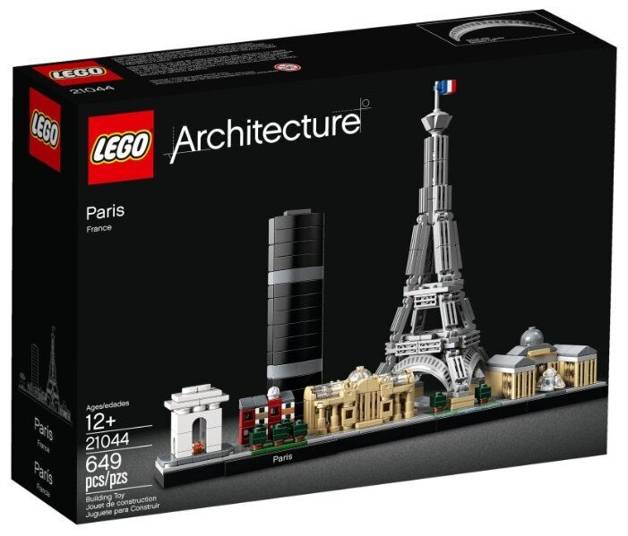 Конструктор LEGO Architecture «Париж» 21044