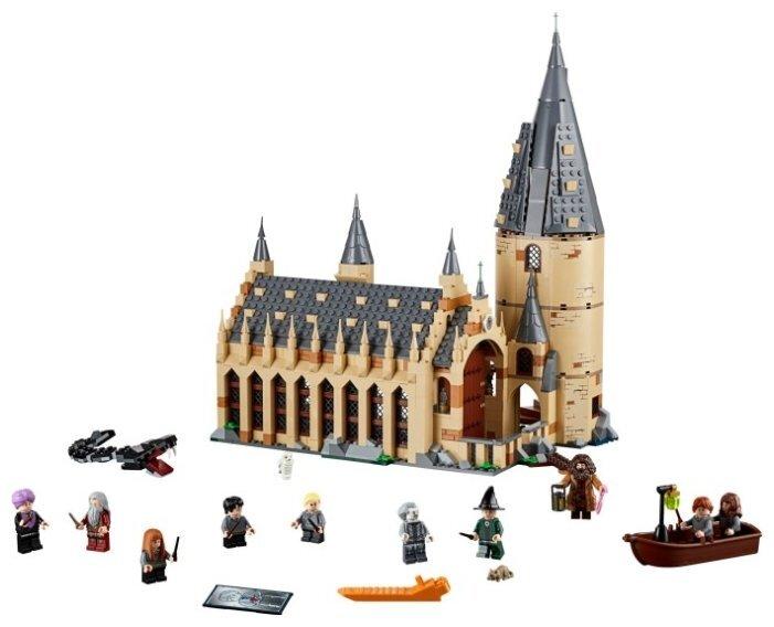 Конструктор LEGO «Большой зал Хогвартса» 75954