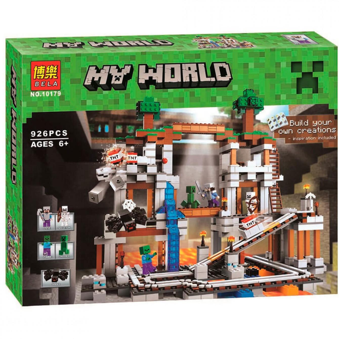 Bela My world «Шахта» 10179