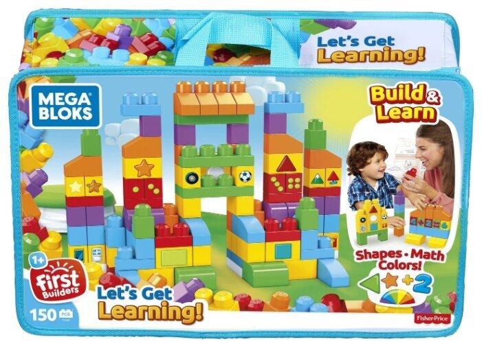 Mega Bloks First Builders «Набор обучающих блоков» FVJ49