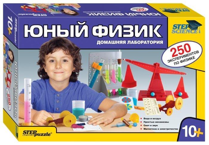 Набор для опытов Step puzzle «Юный физик. Домашняя лаборатория» 76093