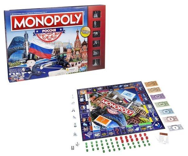 Настольная игра Hasbro Monopoly «Россия»
