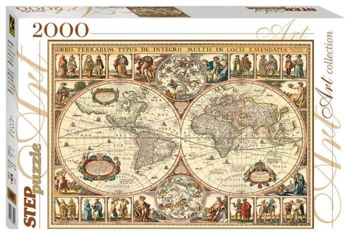 Пазл Step Puzzle «Историческая карта мира» 84003
