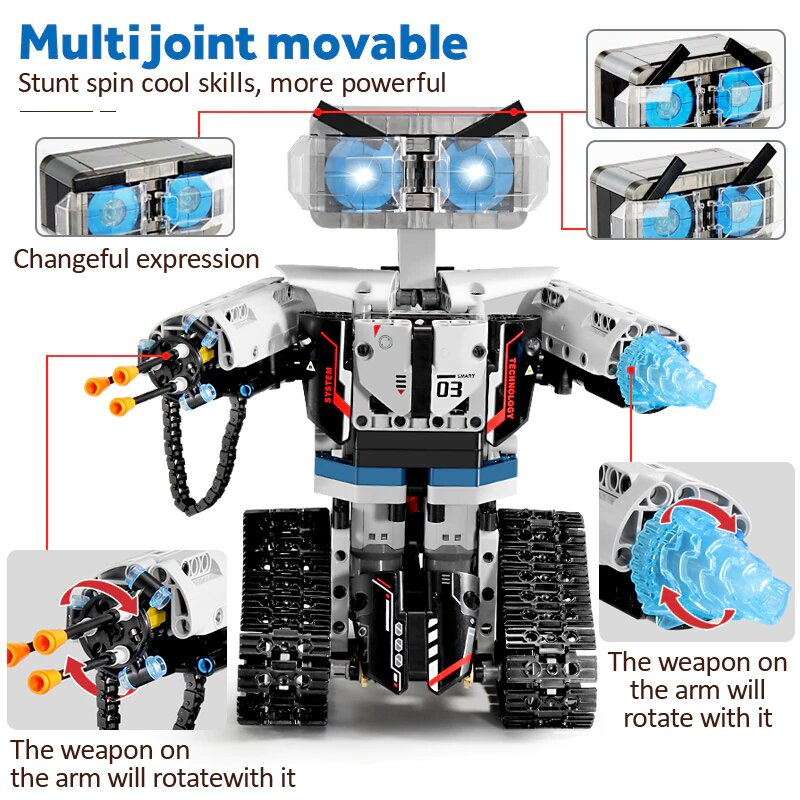 Sembo RC Robot Blocks
