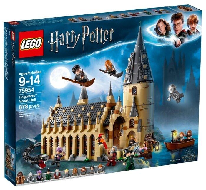 Конструктор Lego Большой зал Хогвартса