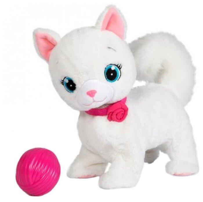 Интерактивная мягкая игрушка Кошка Бьянка с клубком Club Petz