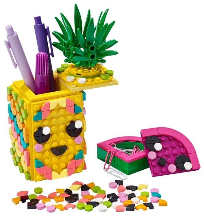 Конструктор Подставка для карандашей Ананас Lego DOTS