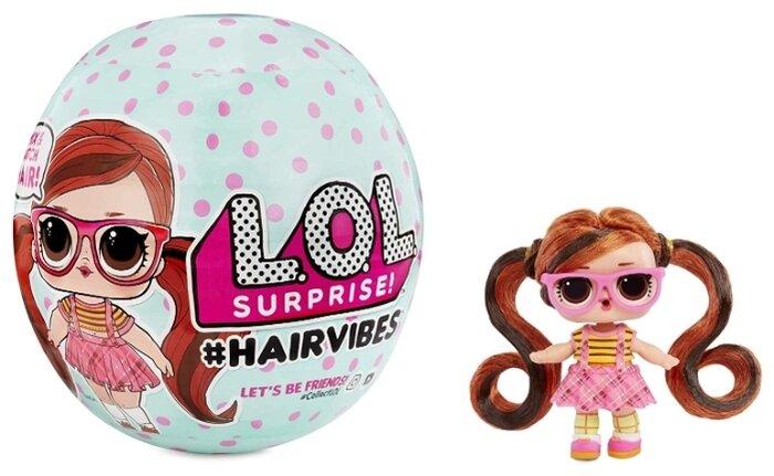 Кукла-сюрприз в шаре L.O.L. Surprise 7 серия Hairvibes