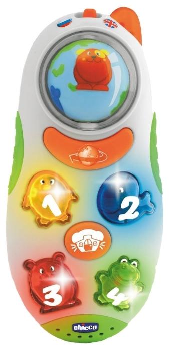 Интерактивная развивающая игрушка «Говорящий телефон» Chicco