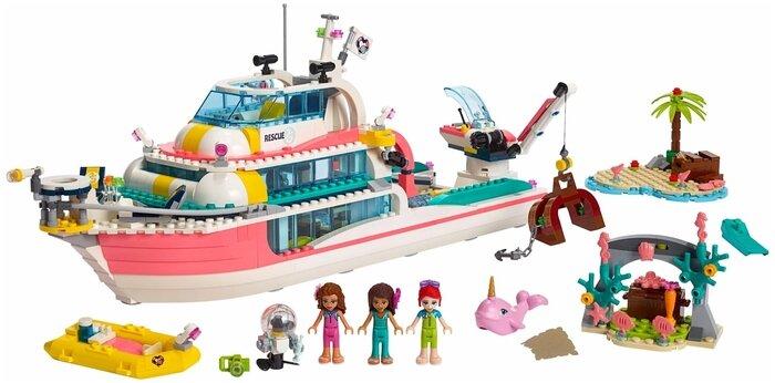 Конструктор LEGO Friends 41381 Катер для спасательных операций