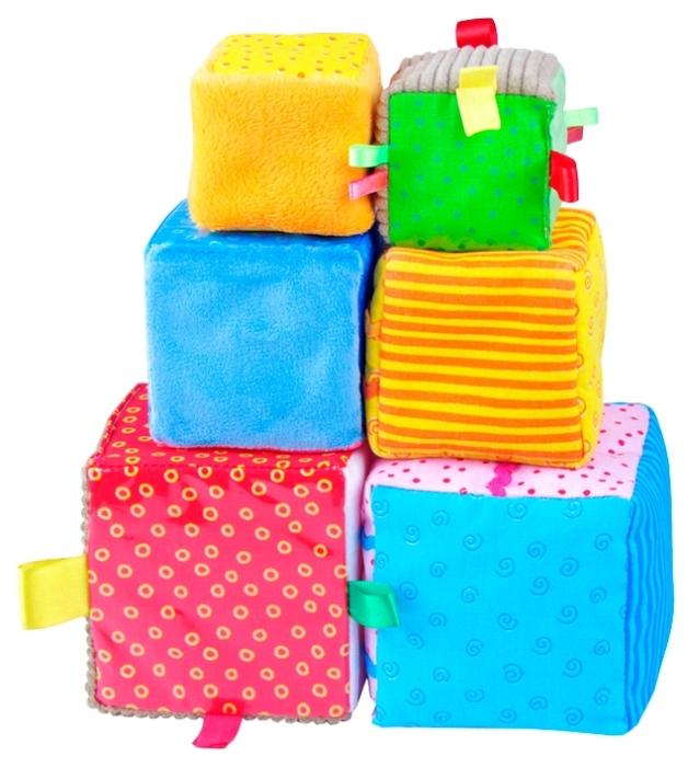 Мягкие кубики «Умные кубики» Мякиши