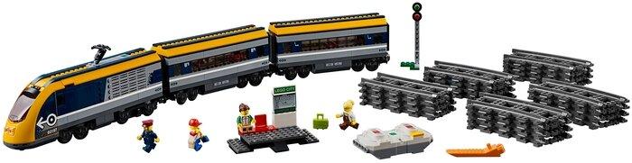 Конструктор LEGO City 60197 Пассажирский поезд