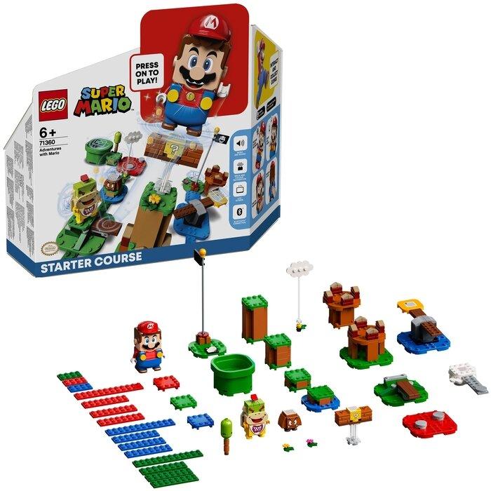 Конструктор LEGO Super Mario 71360 Стартовый набор Приключения вместе с Марио