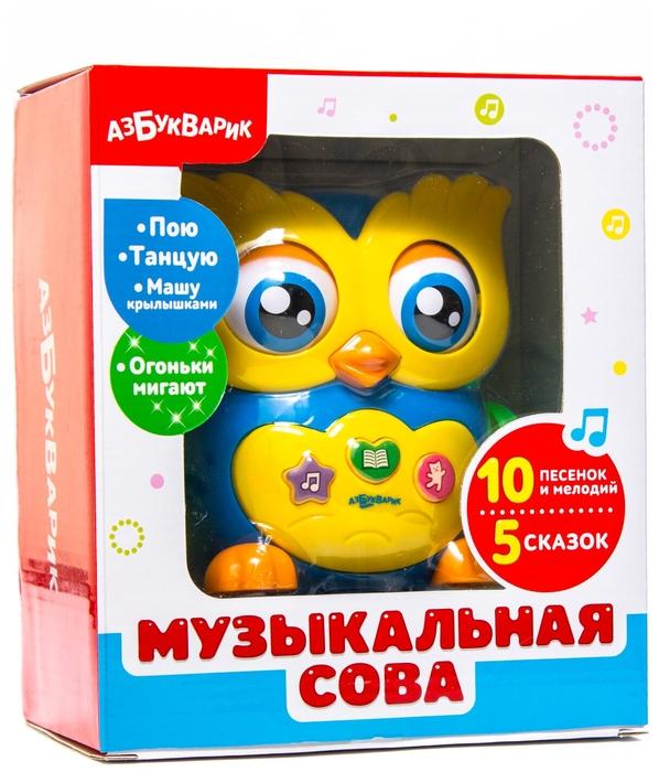 Интерактивная развивающая игрушка «Музыкальная сова»