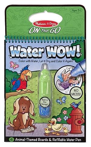 Melissa & Doug Водная раскраска «Water Wow! Животные»