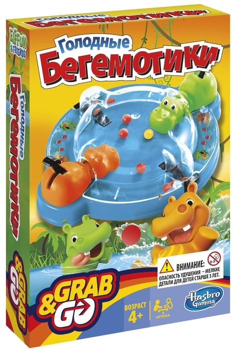 Hasbro Игры «Голодные бегемотики» В1001