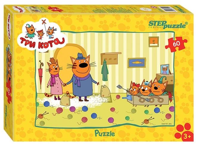 Пазлы Step puzzle «Три кота»